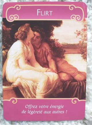 ロマンスエンジェルオラクル カードflirt戯れの恋の深堀解説