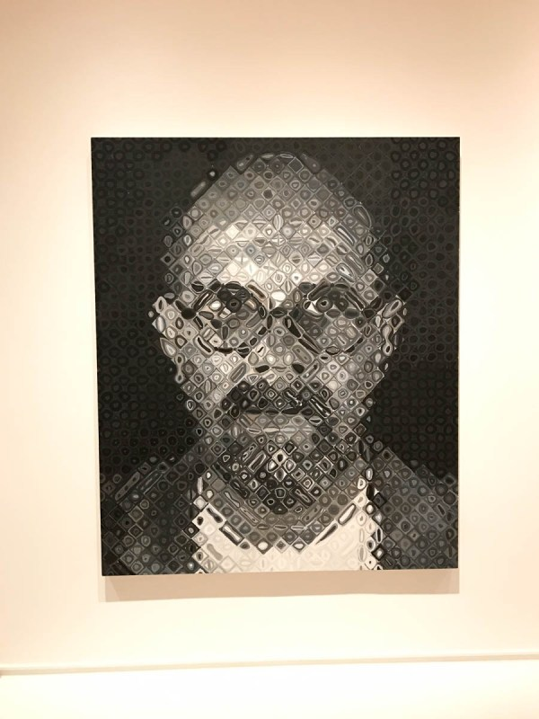Chuck Close Henry Art - Mon Petit Seattle