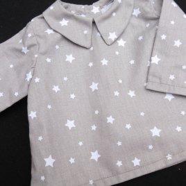 Chemise Etoile Mon Petit Vestiaire, vêtements pour bébés prématurés