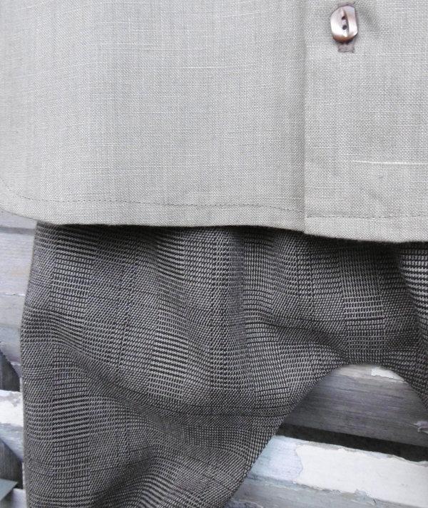 Pantacourt Richerand et chemise Bastille Mon Petit Vestiaire
