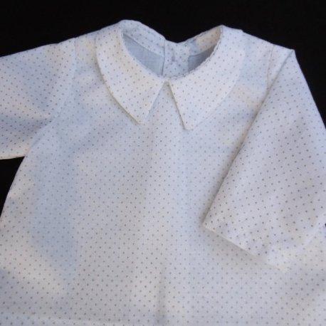 Chemise Plumetis Mon Petit Vestiaire, vêtements pour prématurés