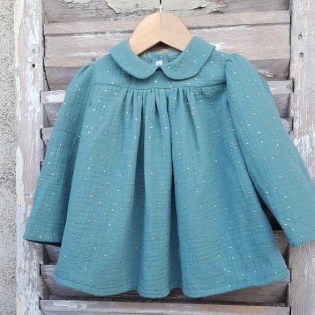 Blouse petite fille : la blouse Etincelle Mon Petit Vestiaire