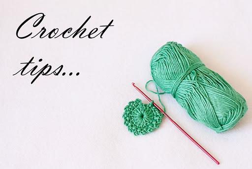 Crochet tips!