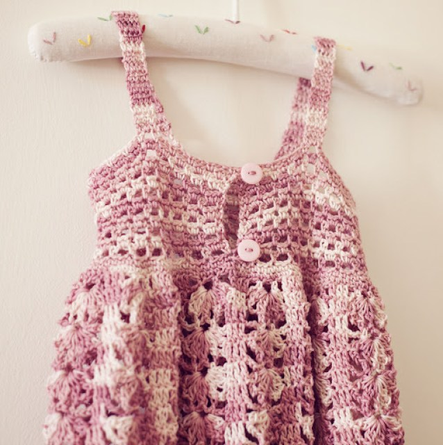 Crochet Sarafan Dress Mon Petit Violon