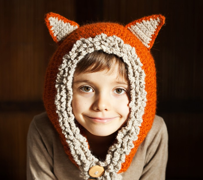 Fox / Wolf Hat Hoodie