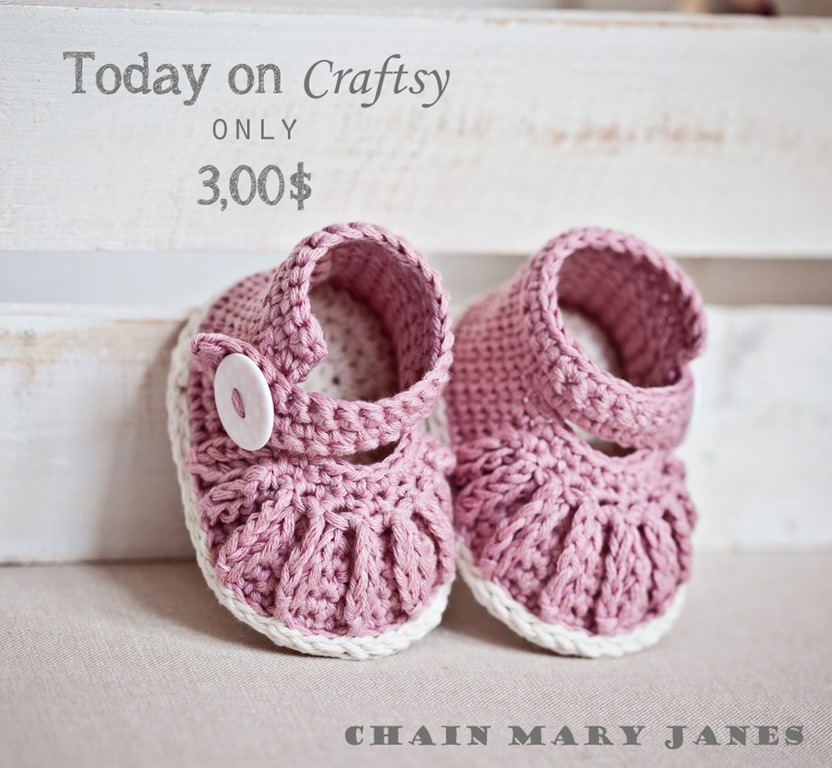 New pattern–Chain Mary Janes - Mon Petit Violon