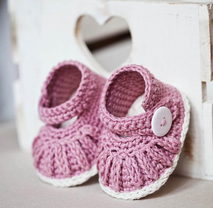 New pattern–Chain Mary Janes