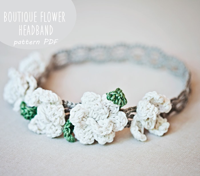Boutique Flower Headband…