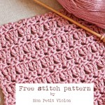 Gorgeous new free stitch pattern to try out this weekend!