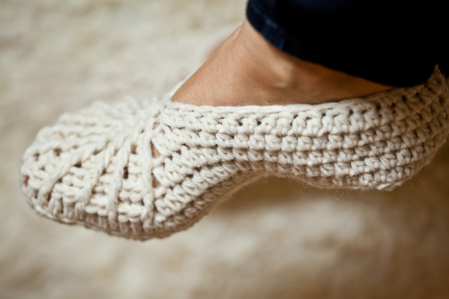 Spider Slippers – crochet pattern update!