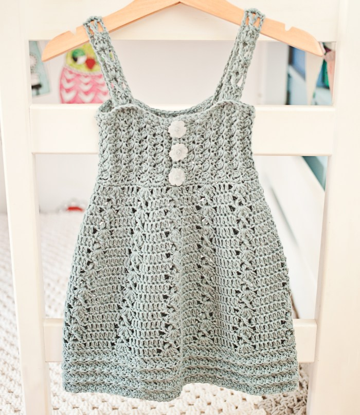 It Is Time To Make New Beautiful Crochet Sea Breeze Dress Mon
