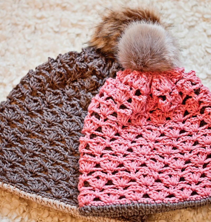 Double Layer Hat - Cowl, crochet pattern