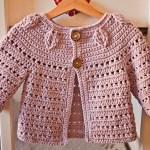 New Flower Peplum Sweater to make right now!