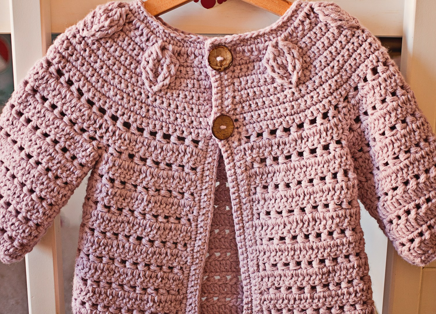 Crochet version of a knit pattern!