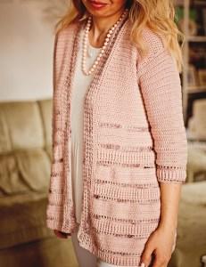 Gioia Cardigan, crochet pattern by Men Petit Violon, www.monpetitviolon.com