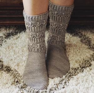 Pearl Socks, Inside Crochet 101, pattern by Mon Petit Violon