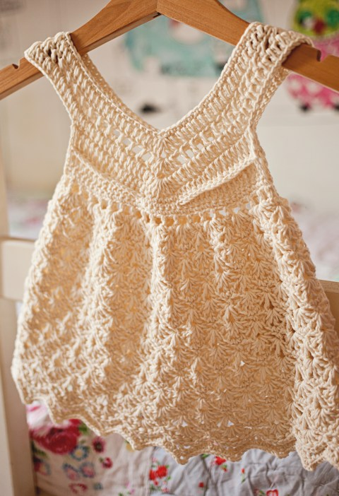 Vanilla Dress, crochet pattern by Mon Petit Violon