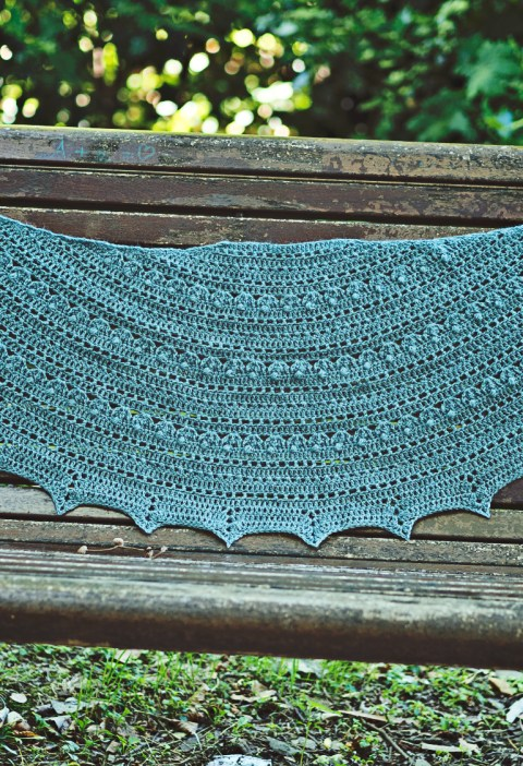 Infinity Shawl - crochet pattern by Mon Petit Violon