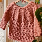 Crochet Cable Cardigan with Pleats – get your copy today!