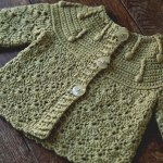 Crochet Baby Set – Wrap Jacket and Trousers and 30% off coupon code!