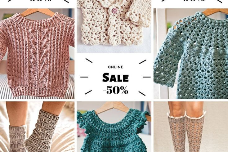 crochet patterns sale, patterns by Mon Petit Violon
