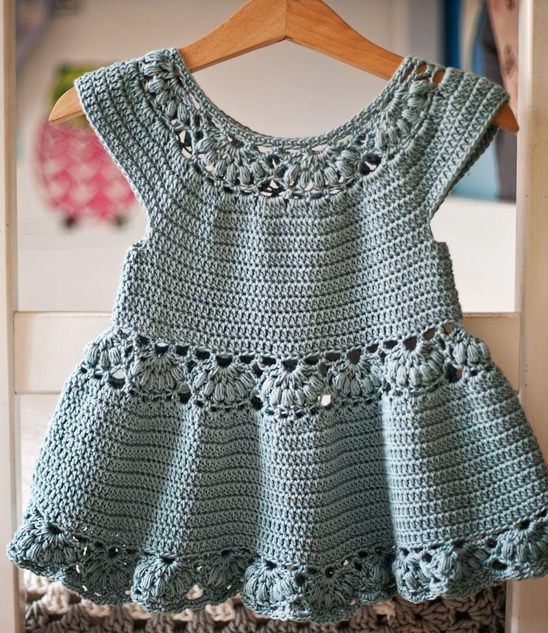Magnolia Dress, crochet pattern by Mon Petit Violon