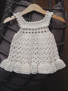 Florie Dress- crochet pattern by Mon Petit Violon