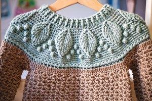 Harvest Sweater, crochet pattern by Mon Petit Violon