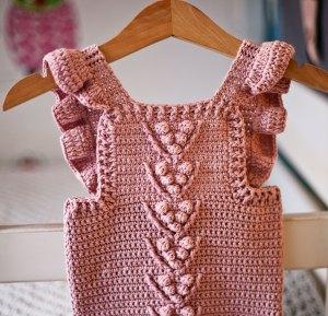 Berry Romper, crochet pattern by Mon Petit Violon