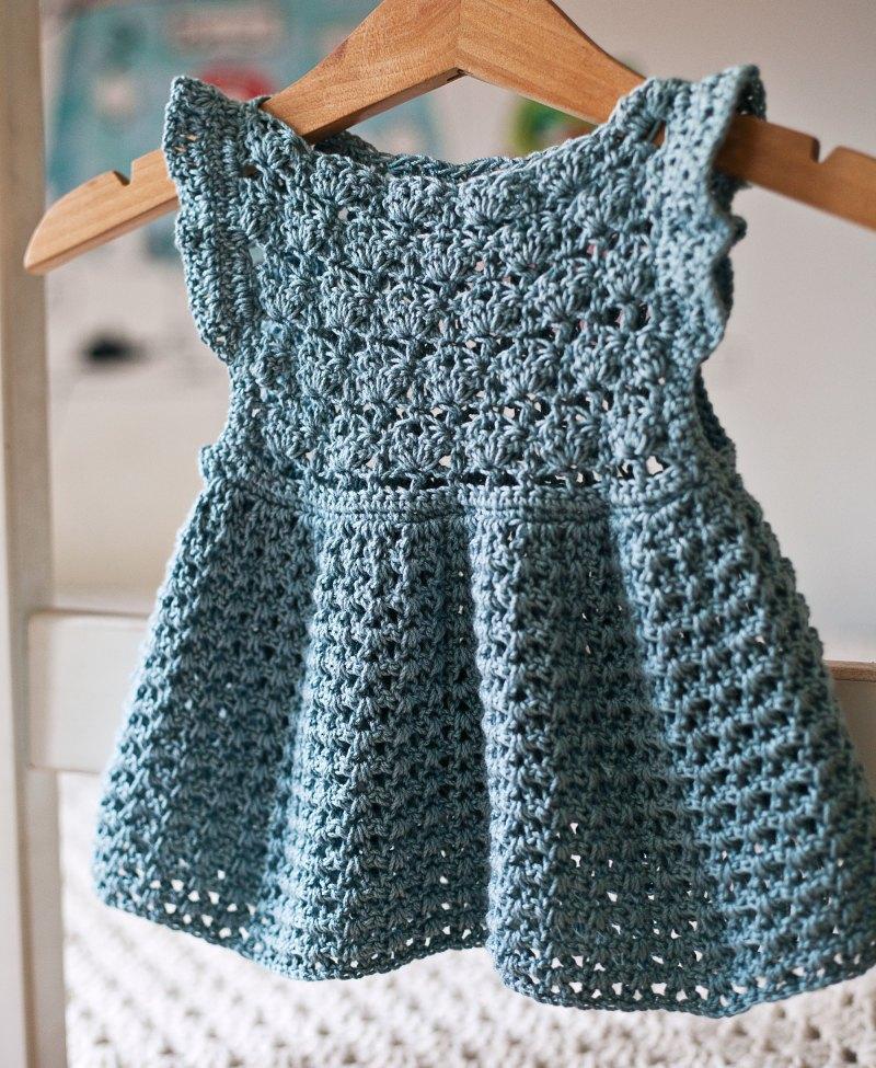 Chloe Dress, crochet pattern by Mon Petit Violon