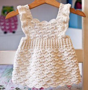 Lily of the Valley Dress. crochet pattern by Mon Petit Violon
