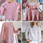 Harvest Cardigan and 3 new sweater patterns!