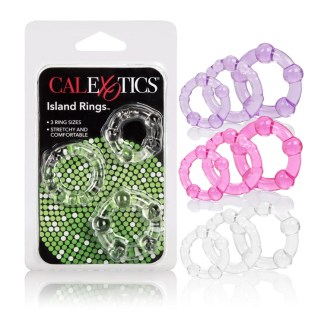 Island Rings - Ensemble d'Anneaux d'Érection - California Exotics
