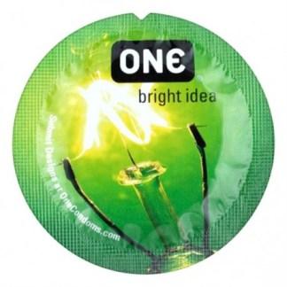 Glowing Pleasure - Condom Fluorescent - One