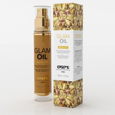 Glam Oil - Huile Dorée - Exsens