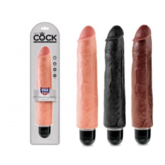 10 Vibrating Stiffy - King Cock