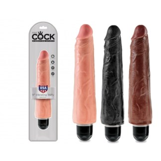9 Vibrating Stiffy - King Cock