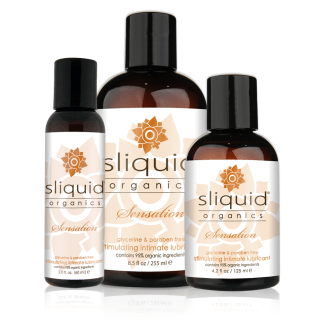 Sensation - Organic - Sliquid - Lubrifiant personnel Organique