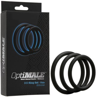 3 C-Ring Set Thin - OptiMALE - Doc Jonhson
