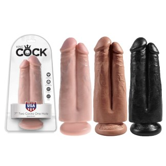 7 Two Cocks One Hole - King Cock