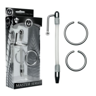 Inertia Flexible Cum Thru Penis Plug - Master Series