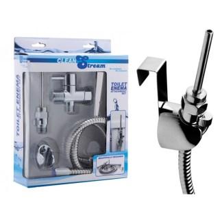 Toilet Enema Attachment Set - Clean Stream