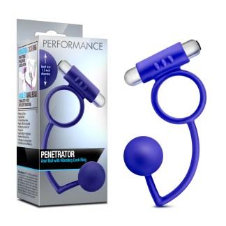 Penetrator - Performance - Anneau et Stimulateur Prostatique - Blush