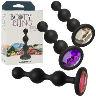 Beads - Booty Bling - Billes Anales avec Bijou - Doc Jonhson