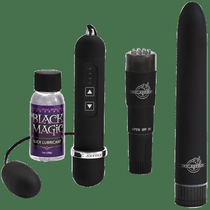 Pleasure Kit - Black Magic - Doc Jonhson