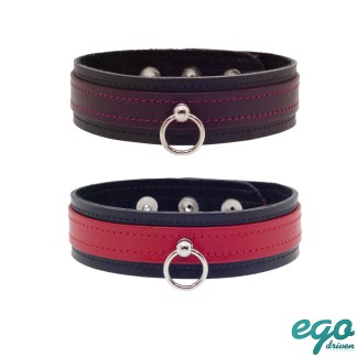 Chokers - Collier en Cuir - Ego Driven