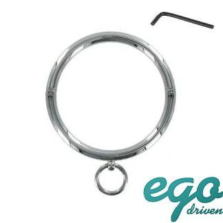 Round Bar Slave Collar - Collier en Métal - Ego Driven
