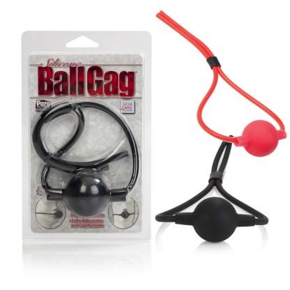 Silicone Ball Gag Removable Ball - Bâillon - California Exotics 3