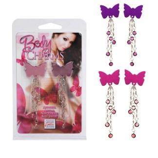 Body Charms Butterfly - Bijoux de Seins - California Exotics