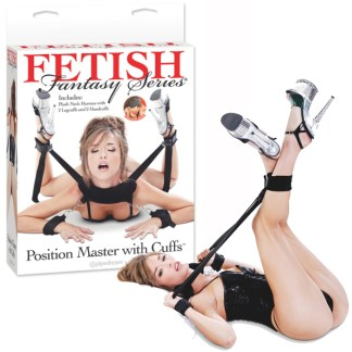 Position Master With Cuffs - Sangle de Position avec Menottes - Fetish Fantasy Series